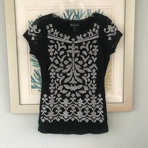 NWT INC patterned shirt